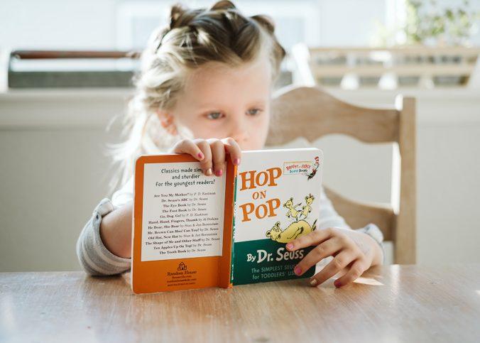 Kind dat boek leest